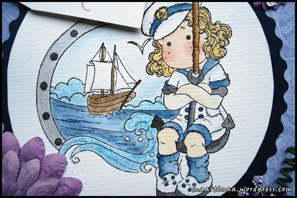 Dangling Sea Tilda, Sea Background, Bon Voyage collection