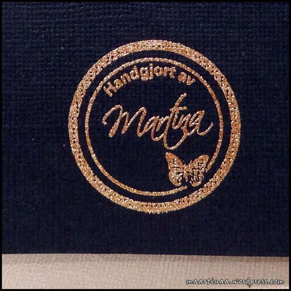 Handgjort av Martina, stämpel, Forma Hantverk