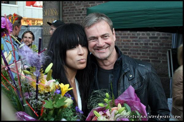 Loreen, Christer Björkman, sommartorsdag Borås 28 juni 2012