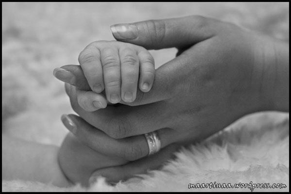 bebishand runt finger