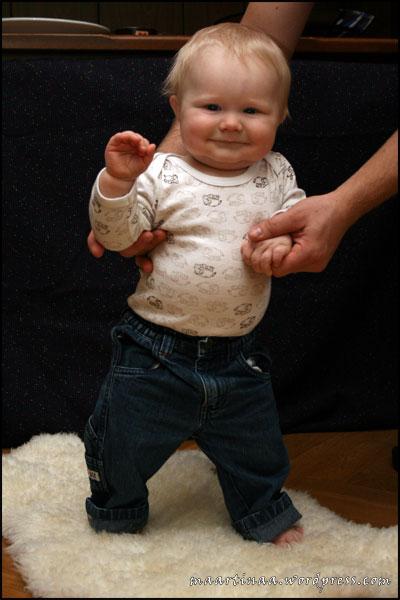 Oliver 9 månader