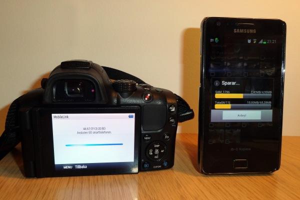 Samsung NX20, wifi, transfer to samsung galaxy S2 SII