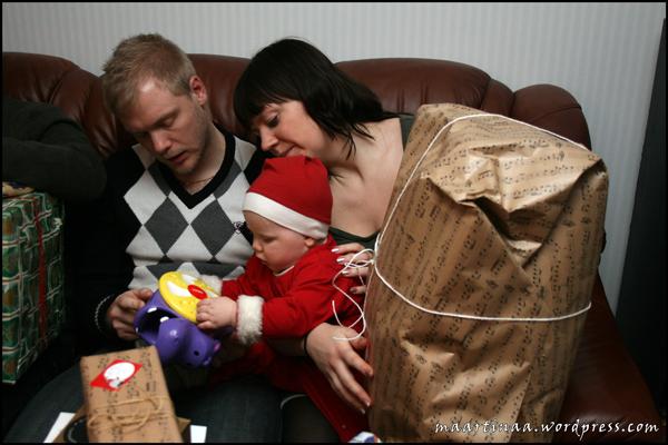 Julklappen som Johan valt ut blev genast poppis!