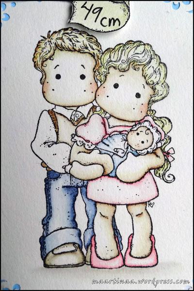 Magnolia Tilda's family Princes & Princesses 2012, Clover banner Fortune Collection